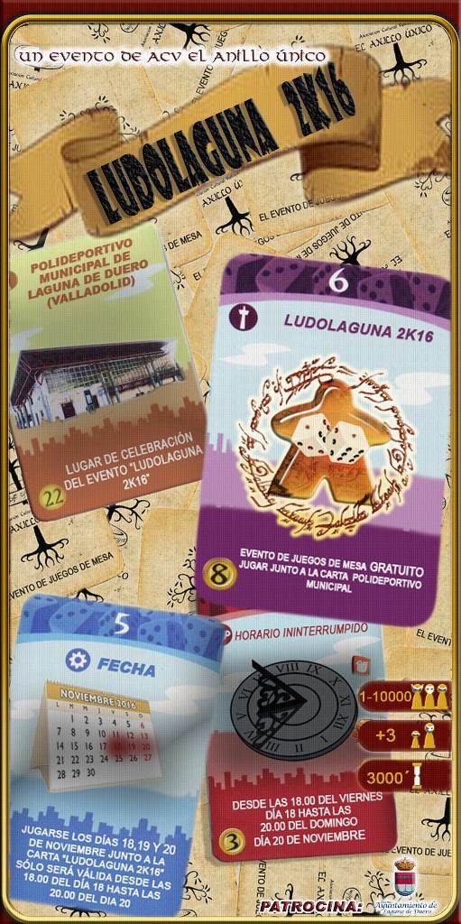 Cartel Ludolaguna 2K16
